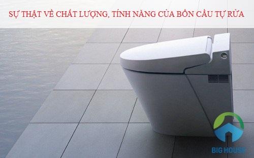 Sự thật về chất lượng, tính năng của bồn cầu tự rửa Inax – Bạn cần biết