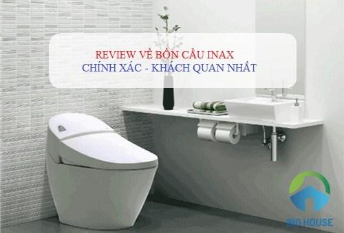 review bồn cầu inax