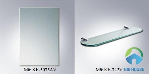 Bộ gương phòng tắm cao cấp của Inax