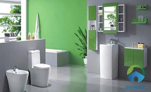 Chọn kích thước thiết bị vệ sinh cho phòng tắm có diện tích lớn