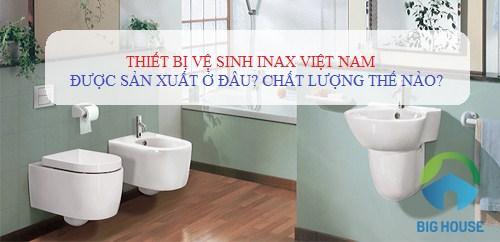 CON SỐ chính xác về thiết bị vệ sinh Inax Việt Nam sẽ được Bật Mí dưới đây