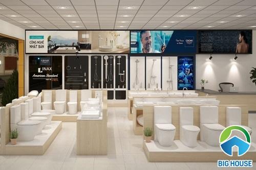Nên mua bồn cầu Inax Tp HCM ở Showroom, cửa hàng, đại lý nào?