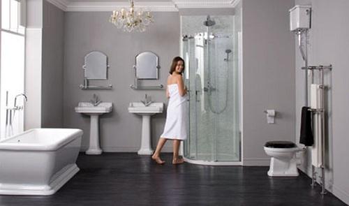 Bồn tắm đứng Inax mang lại sự tiện nghi