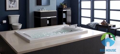 bồn tắm xây inax