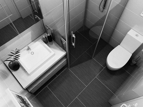 Mẫu nhà vệ sinh nhà ống