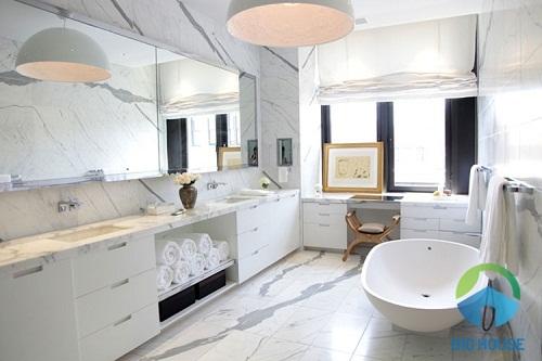 Mẫu nhà vệ sinh cho khách sạn