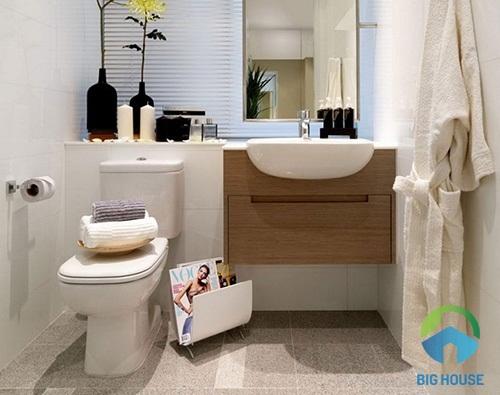 Mẫu nhà vệ sinh cho nhà ở chung cư