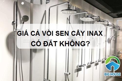 Giá cả vòi sen cây Inax có đắt không? Mua vòi sen ở đâu giá tốt nhất?