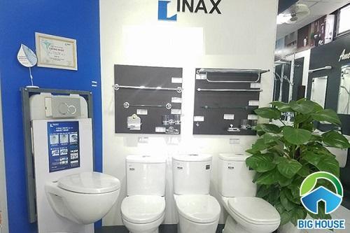 đại lý thiết bị vệ sinh inax tại tphcm