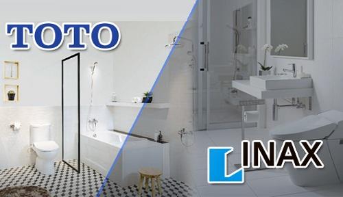 nên dùng thiết bị vệ sinh toto hay inax