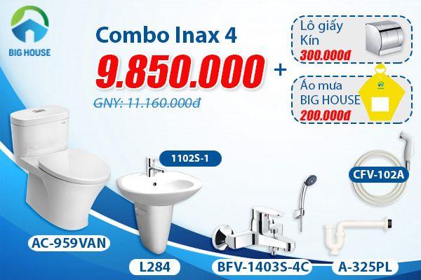 Bảng báo giá thiết bị vệ sinh inax cao cấp