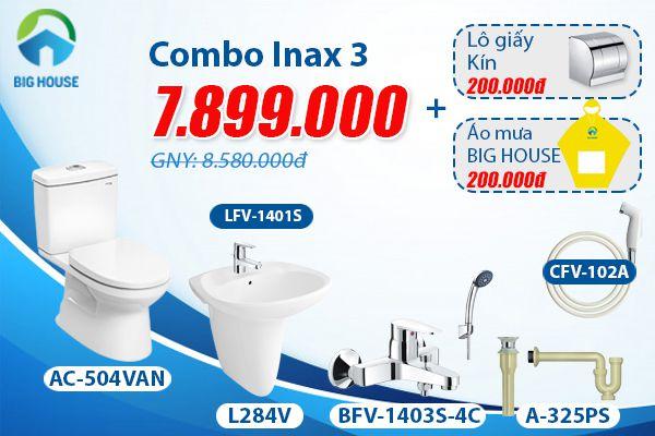 Giá thiết bị vệ sinh inax trọn gói