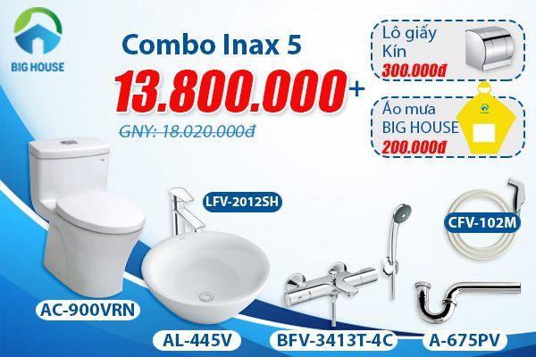 Giá thiết bị vệ sinh combo chất lượng cao