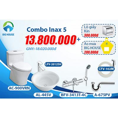 Khuyến mãi Combo thiết bị vệ sinh Inax số 5