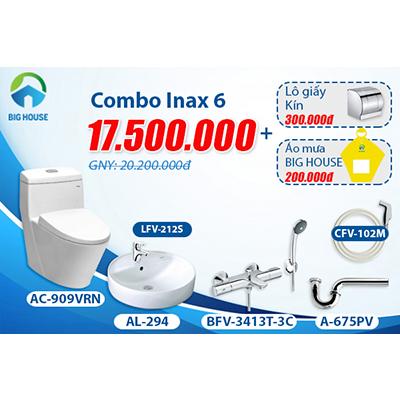 Khuyến mãi Combo thiết bị vệ sinh Inax số 6