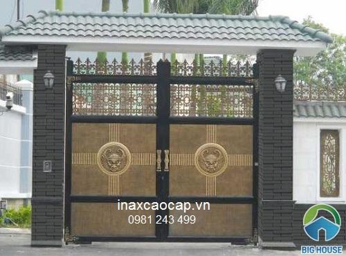 TOP Mẫu Gạch Inax ốp cổng, ốp trụ cổng đẹp kèm báo giá chi tiết 2021