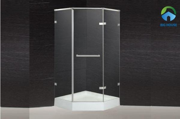 bồn tắm vách kính caesar SD5320AT-RO kiểu dáng tinh tế, thanh lịch