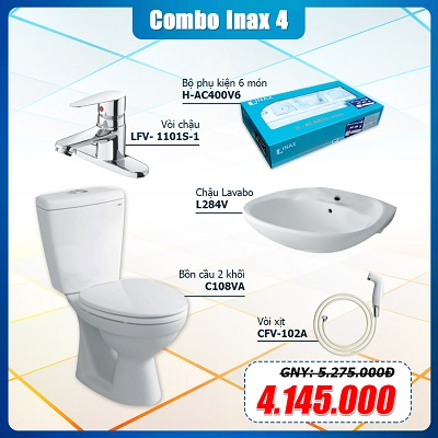 Combo Thiết Bị Vệ Sinh Inax 4
