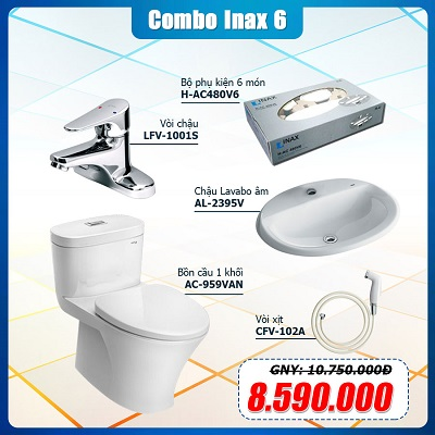 Combo Thiết Bị Vệ Sinh Inax 6