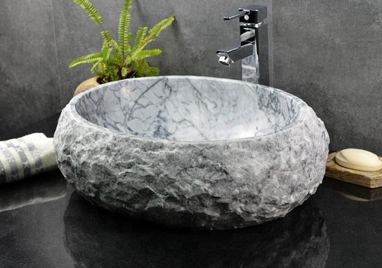 chậu lavabo đá
