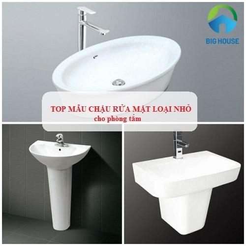 9 Mẫu chậu rửa mặt loại nhỏ cho phòng tắm hẹp – Tiết kiệm diện tích