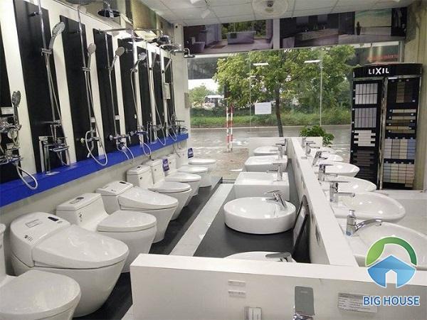 đại lý thiết bị vệ sinh inax hà nội