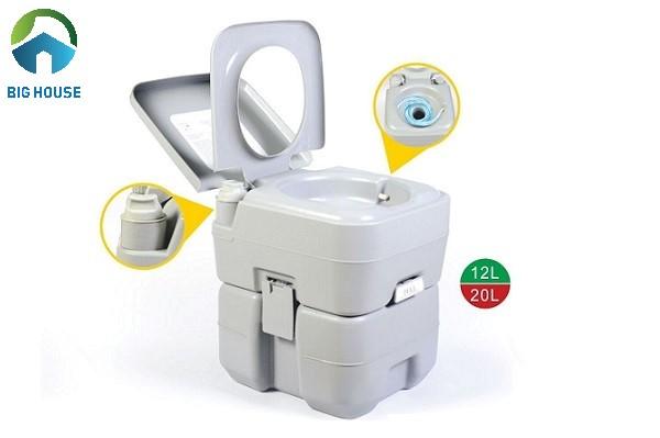bồn cầu nhựa là một dạng bô vệ sinh có thiết kế giống bồn cầu
