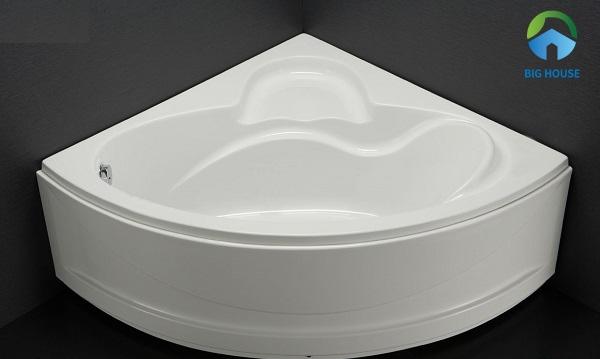 bồn tắm cho bé kích thước nhỏ Caesar AT5120A kiểu dáng độc đáo, hiện đại