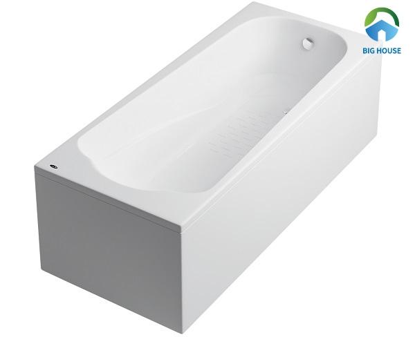 bồn tắm mini có chân yếm của Inax mã FBV-1502SL thiết kế nhỏ gọn, phù hợp với mọi không gian