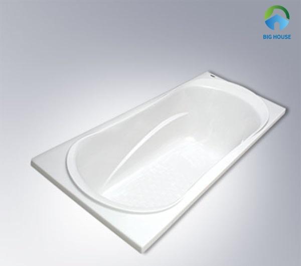 Bồn tắm mini Inax MBV-1500 với chất liệu nhựa composite cao cấp