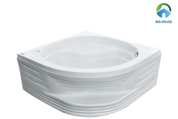 bồn tắm nằm góc Euroca EU1-9090 nhựa Acrylic với độ bền vượt trội