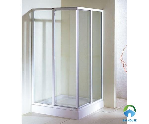 Bồn tắm đứng 800x800 Appollo TS-5158 thiết kế hình chữ nhật góc cạnh