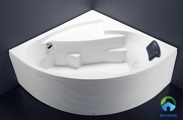 bồn tắm 1m4 caesar AT5140A thiết kế nhỏ gọn tiết kiệm diện tích tối ưu nhất