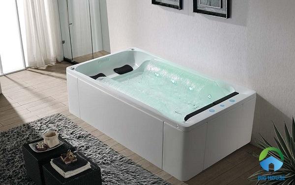 bồn tắm đôi massage EuroKing EU – 1309 sục khí tích hợp nhiều tính năng hiện đại