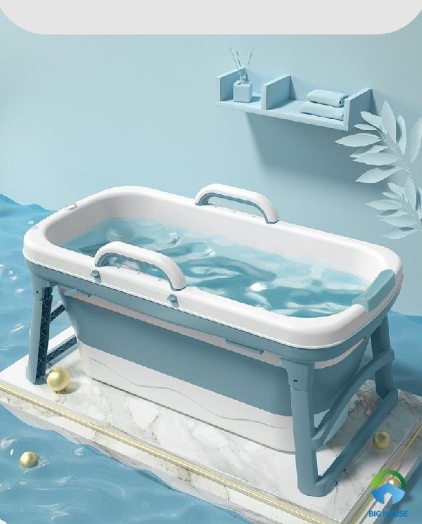 bồn tắm gấp gọn dành cho bé trai