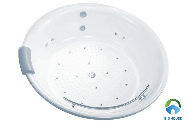 bồn tắm tròn Toto PPY1720HPWE#P kiểu dáng đơn giản