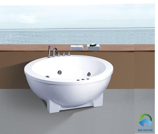 bồn tắm tròn Govern JS-8810 nhập khẩu với thiết kế hiện đại, sang trọng