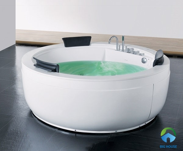 bồn tắm tròn